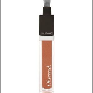 NEW Pure Romance OBSESSED Intense Lip Gloss Bronze